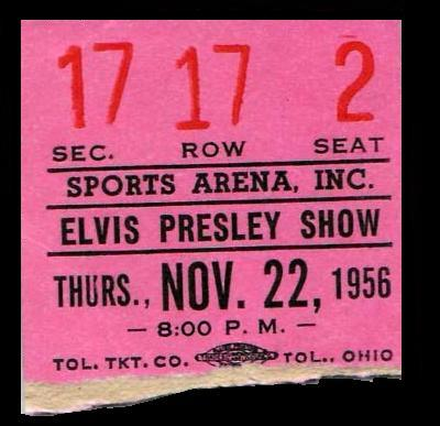 November 22, 1956 - Toledo, OH Sports Arena