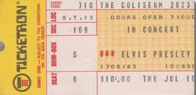 July 10, 1975 -  Richfield, OH Cleveland Coliseum