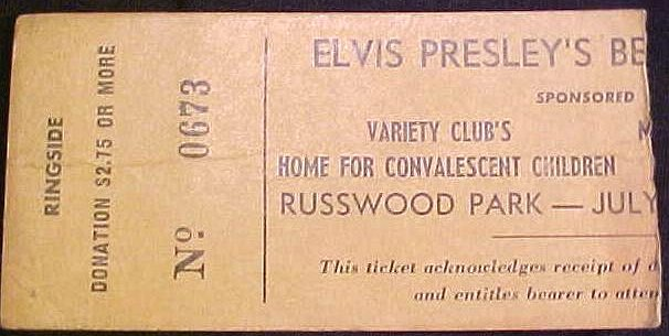 July 4, 1956 - Russwood Park Memphis, TN