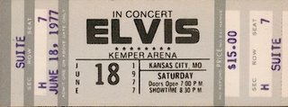 June 18, 1977 - Kansas City, MO. Kemper Arena