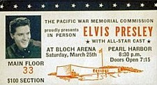 March 25, 1961 - Honolulu, HI Pearl Harbor Bloch Arena