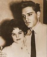 Elvis Priscilla Presley When Young